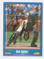 Bob Brenly AUTOGRAPH Giants 1988 Score 