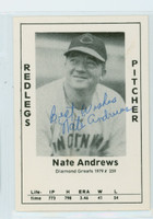 Nate Andrews AUTOGRAPH d.91 1979 TCMA Diamond Greats Reds 
