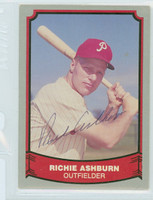 Richie Ashburn AUTOGRAPH d.97 1988|89 Pacific Legends Phillies 