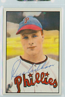 Richie Ashburn AUTOGRAPH d.97 1982-83 Diamond Classics Phillies 
