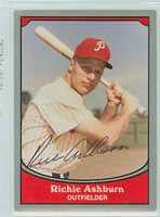 Richie Ashburn AUTOGRAPH d.97 1990 Pacific Legends Phillies 