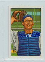 Matt Batts AUTOGRAPH d.13 1952 Bowman Reprints Tigers 