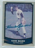 Hank Bauer AUTOGRAPH d.07 1988|89 Pacific Legends Yankees 