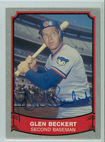 Glenn Beckert AUTOGRAPH 1989 1988|89 Pacific Legends Cubs 