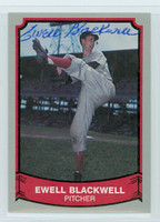 Ewell Blackwell AUTOGRAPH d.96 1988|89 Pacific Legends   [SKU:BlacE273_PAC88BBcl]