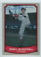 Ewell Blackwell AUTOGRAPH d.96 1988|89 Pacific Legends Reds 