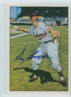 Ray Boone AUTOGRAPH d.04 1979 TCMA The Fifties Indians 