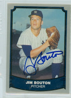 Jim Bouton AUTOGRAPH 1988 1988|89 Pacific Legends Yankees 