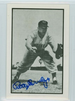 Rocky Bridges AUTOGRAPH d.15 1953 Bowman B|W  Reprints Reds 