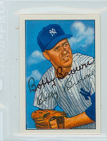 Bobby Brown AUTOGRAPH 1952 Bowman Reprints Yankees 