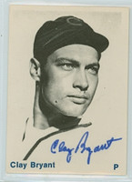 Clay Bryant AUTOGRAPH d.99 TCMA 1938 NL Champion Chicago Cubs 