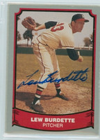 Lou Burdette AUTOGRAPH d.07 1988|89 Pacific Legends Braves 