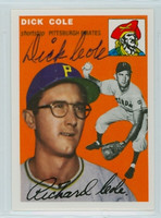 Dick Cole AUTOGRAPH Topps 1954 Archives #84 Pirates 
