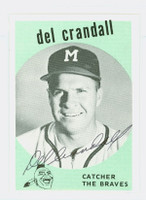 Del Crandall AUTOGRAPH The Braves / The Yankees 