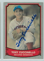 Tony Cuccinello AUTOGRAPH d.95 1989 1988|89 Pacific Legends Reds 
