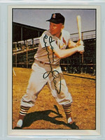 Joe Cunningham AUTOGRAPH 1979 TCMA The Fifties Cardinals 