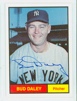 Bud Daley AUTOGRAPH Galasso 1961 World Champion New York Yankees 