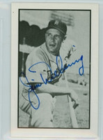 Jim Delsing AUTOGRAPH d.06 1953 Bowman B|W  Reprints Tigers 