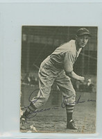 Emerson Dickman AUTOGRAPH d.81 TCMA The 1930's Red Sox 