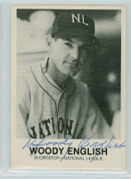 Woody English AUTOGRAPH d.97 1983 Galasso 