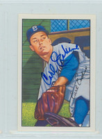 Carl Erskine AUTOGRAPH 1952 Bowman Reprints Dodgers 