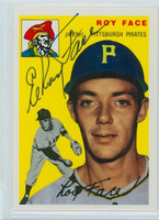 Elroy Face AUTOGRAPH Topps 1954 Archives #87 Pirates 