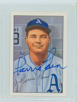 Ferris Fain AUTOGRAPH d.01 1952 Bowman Reprints Athletics 