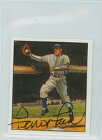 Ferris Fain AUTOGRAPH d.01 1950 Bowman Reprints Athletics 
