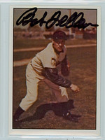 Bob Feller AUTOGRAPH d.10 1979 TCMA The Fifties Indians 