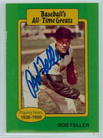 Bob Feller AUTOGRAPH d.10 TCMA All-Time Greats Indians 