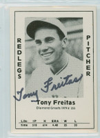 Tony Freitas AUTOGRAPH d.94 1979 TCMA Diamond Greats Reds 