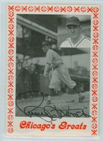 Larry French AUTOGRAPH d.87 TCMA Chicago's Greats Cubs 