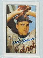Ned Garver AUTOGRAPH 1953 Bowman Color Reprints Tigers 
