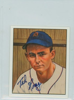 Ted Gray AUTOGRAPH d.11 1950 Bowman Reprints Tigers 