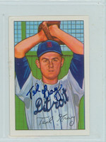 Ted Gray AUTOGRAPH d.11 1952 Bowman Reprints Tigers 