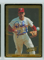 Dick Groat AUTOGRAPH Action Packed Phillies 