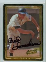 Bud Harrelson AUTOGRAPH Action Packed Mets 