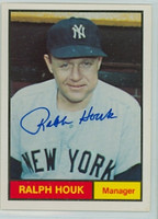 Ralph Houk AUTOGRAPH d.10 Galasso 1961 World Champion New York Yankees 