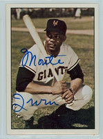 Monte Irvin AUTOGRAPH 1979 TCMA The Fifties Giants 