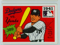 Charlie Keller AUTOGRAPH d.90 1967 Laughlin 1941 World Series Yankees 