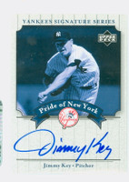 Jimmy Key AUTOGRAPH 2003 Pride of the Yankees CERTIFIED 
