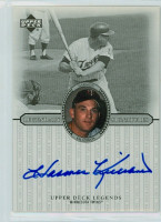 Harmon Killebrew AUTOGRAPH d.11 2000 Upper Deck Insert Legendary Signatures Twins CERTIFIED 