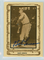 Bob Lemon AUTOGRAPH d.00 1980-83 Cramer Baseball Legends Indians 