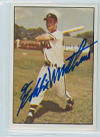 Eddie Mathews AUTOGRAPH d.01 1979 TCMA The Fifties Braves 