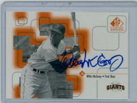 Willie McCovey AUTOGRAPH 1999 Upper Deck SP Signature Giants CERTIFIED 