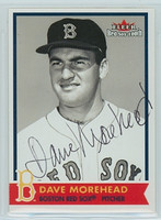 Dave Morehead AUTOGRAPH 2001 Fleer Red Sox 100th 