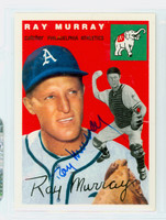 Ray Murray AUTOGRAPH d.03 Topps 1954 Archives Athletics 