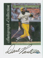 Dave Parker AUTOGRAPH 1999 SI Fleer Greats - Covers Pirates CERTIFIED 