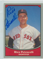 Rico Petrocelli AUTOGRAPH 1990 Pacific Legends Red Sox 