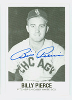 Bill Pierce AUTOGRAPH d.15 Galasso White Sox 